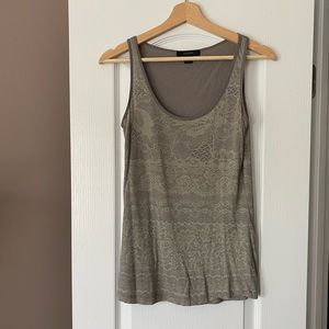 Gray tank top from Express